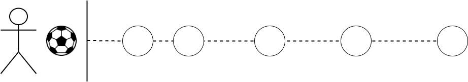 Esempio gioco palla in buca