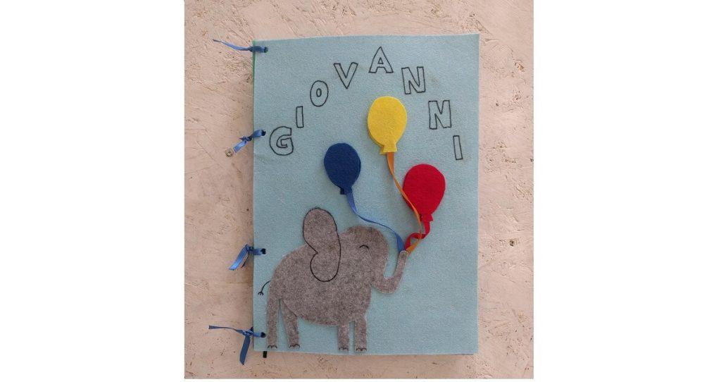 quiet book colori palloncini