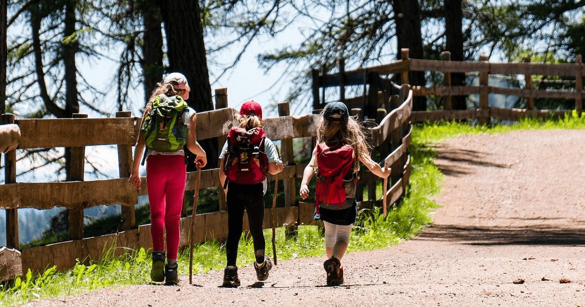 cosa fare in montagna con i bambini